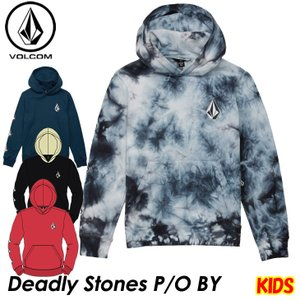 volcom ボルコム キッズ パーカー  Deadly Stones P/O BY 8-14歳  C4131805  【返品種別OUTLET】|fleaboardshop01