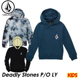 volcom ボルコム キッズ パーカー  Deadly Stones P/O LY 3-7歳  Y4131805  【返品種別OUTLET】|fleaboardshop01