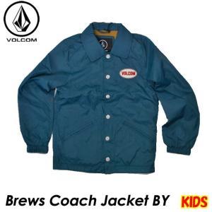 volcom ボルコム キッズ コーチジャケット  Brews Coach Jacket BY 8-14歳  C1531801  【返品種別OUTLET】|fleaboardshop01
