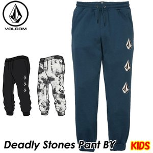 volcom ボルコム キッズ スウェットパンツ  Deadly Stones Pant BY 8-14歳  C1231802  【返品種別OUTLET】|fleaboardshop01