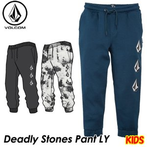 volcom ボルコム キッズ スウェットパンツ  Deadly Stones Pant LY 3-7歳  Y1231802  【返品種別OUTLET】|fleaboardshop01