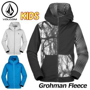 18-19 volcom ボルコム キッズ パーカー スノーボード Grohman Fleece I2451902  【返品種別OUTLET】|fleaboardshop01
