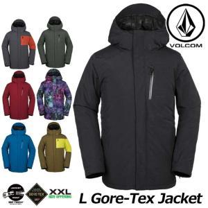18-19 VOLCOM ボルコム メンズ ウェア スノー ボード ジャケット L GORE-TEX Jkt G0651904 【返品種別OUTLET】