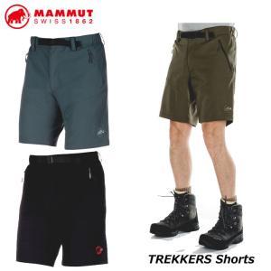 MAMMUT マムート ハイキング ショート パンツ メンズ  TREKKERS Shorts Men 短パン   正規品 ship1|fleaboardshop01