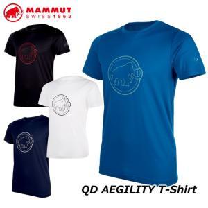 MAMMUT マムート メンズ Tシャツ  QD AEGILITY T-Shirt AF Men  正規品|fleaboardshop01