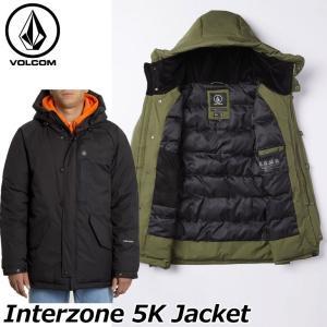 ステッカープレゼント ボルコム VOLCOM メンズInterzone 5K Jacket ジャケッ...