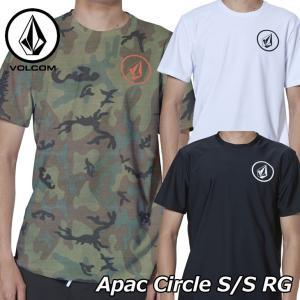 volcom ボルコム ラッシュガード  Apac Circle S/S RG メンズ Japan 半袖 N01119G0|fleaboardshop01