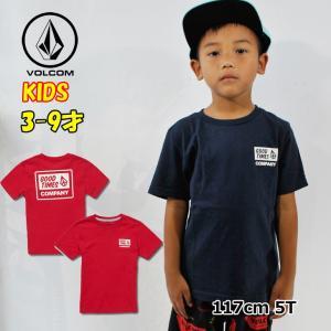 ボルコム volcom キッズ Tシャツ  Volcom Is Good S/S Tee LY 3-9歳  Y3511901|fleaboardshop01