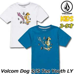 ボルコム volcom キッズ Tシャツ  Volcom Dog S/S Tee LY 3-9歳  Y3511931|fleaboardshop01