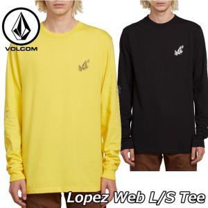 volcom ボルコム ロンT Lopez Web L/S Tee メンズ 長袖 A3611902 ...