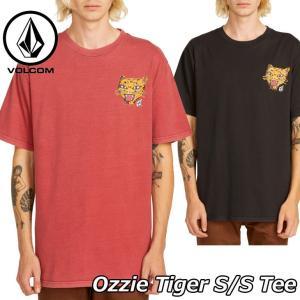 volcom ボルコム tシャツ  Ozzie Tiger S/S Tee  メンズ  半袖 A4311903|fleaboardshop01