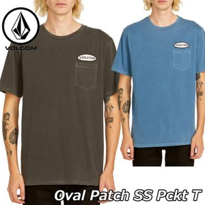 volcom ボルコム tシャツ  Oval Patch SS Pckt T  メンズ  半袖 A5211904|fleaboardshop01