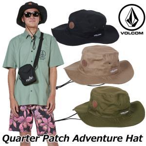 volcom ボルコム アドベンチャーハット  Quarter Patch Adventure Hat メンズ  japan D55119JA|fleaboardshop01
