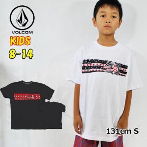 ボルコム キッズ Tシャツ volcom KIDS  Mag Dye S/S Tee  半袖 8-14歳 小中学生  Big Boys C3521901|fleaboardshop01