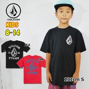 ボルコム キッズ Tシャツ volcom KIDS  Big Outline S/S TEE  半袖 8-14歳 小中学生  Big Boys  C3521902|fleaboardshop01