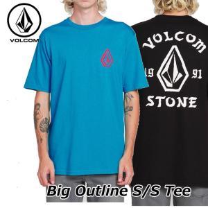 volcom ボルコム tシャツ メンズ  Big Outline S/S Tee 半袖  A3521902|fleaboardshop01