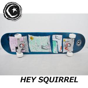スケートボード コンプリート FOUNDATION ファンデーション HEY SQUIRREL 8.0 スケボー 完成品 純正品 ship1|fleaboardshop