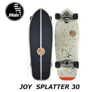 Slide surf skateboards スライド サーフ スケート スケボーコンプリート  【JOY SPLATTER 30】 正規品 ship1|fleaboardshop