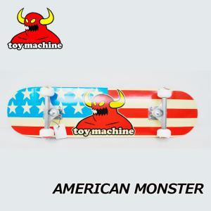 スケートボード コンプリート TOY MACHINE トイマシーン AMERICAN MONSTER ship1 純正品|fleaboardshop
