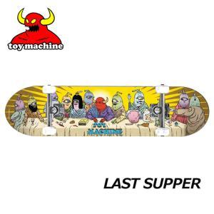 スケートボード コンプリート TOY MACHINE トイマシーン LAST SUPPER 【7.875x31.25】 ship1 純正品|fleaboardshop