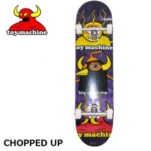 スケートボード コンプリート  TOY MACHINE トイマシーン  CHOPPED UP  ship1 純正品|fleaboardshop