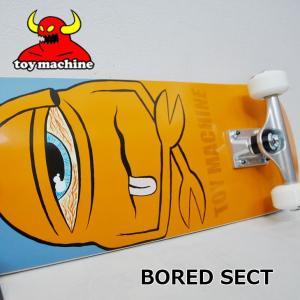 スケートボード コンプリート  TOY MACHINE トイマシーン  BORED SECT  ship1 純正品|fleaboardshop