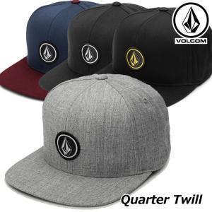 ボルコム VOLCOM キャップ メンズ Quarter Twil (Snap Back) D5511561【返品種別OUTLET】|fleaboardshop