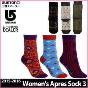 15-16 BURTON バートン WOMENS ソックス  靴下 Women's Apres Sock 3 Pack レディース  日本正規品 メール便不可【返品種別OUTLET】|fleaboardshop
