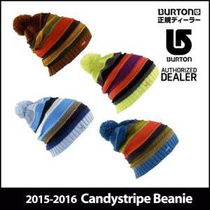 15-16 BURTON バートン ニット帽 モデル WOMENS レディース Candystripe Beanie スノーボード ビーニー 帽子 日本正規品【返品種別OUTLET】|fleaboardshop
