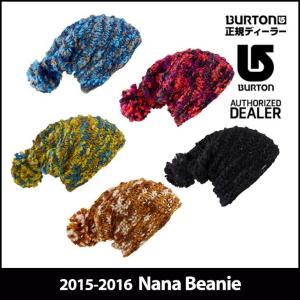 15-16 BURTON バートン ニット帽 モデル WOMENS レディース Nana Beanie スノーボード ビーニー 帽子 日本正規品【返品種別OUTLET】|fleaboardshop
