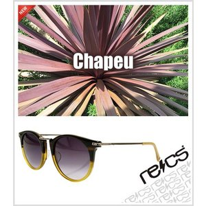 recs サングラス レックス 【 Chapeu 】 【5rs-recs-c14-03】 【BEKKOU / C.BROWN】 グラサン sunglasses   ship1|fleaboardshop