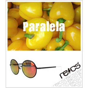 recs サングラス レックス 丸型 丸メガネ 丸レンズ 丸めがね recs-s60-01 Paralela BLK グラサン sunglasses 送料無料|fleaboardshop