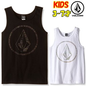 VOLCOM ボルコム キッズ タンクトップ 【Y】So What Tank Little Youth Kids 3-7才向け 【返品種別OUTLET】|fleaboardshop
