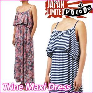 volcom JapanLimited ボルコム レディース  ワンピース  Trine Maxi Dress マキシドレス  /【返品種別OUTLET】 fleaboardshop
