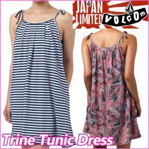 volcom JapanLimited ボルコム レディース  ワンピース  Trine Tunic Dress チュニックキャミワンピース  /【返品種別OUTLET】 fleaboardshop