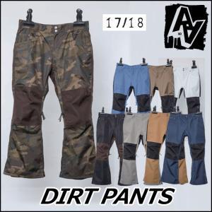 AA hardwear 17-18 ダブルエー ウエア DIRT PANTS ダートパンツ スノー ...
