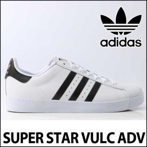 adidas スケートシューズ アディダス 【SUPERSTAR VULC ADV 】スーパースター 【D68718】 白 <BR>シューズ スニーカー スケシュー  【返品種別OUTLET】 fleaboardshop