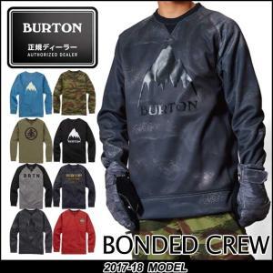 17-18 BURTON バートン 撥水 トレーナー Bonded Crew スノーボード 【返品種別OUTLET】 fleaboardshop