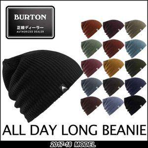 17-18 BURTON バートン MENS メンズ ALL DAY LONG BEANIE スノーボード ビーニー  帽子 メール便可 日本正規品 【返品種別OUTLET】|fleaboardshop