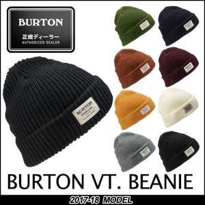 17-18 BURTON バートン MENS メンズ BURTON VT. BEANIE スノーボード ビーニー  帽子 メール便可 日本正規品 予約販売品 10月入荷予定|fleaboardshop