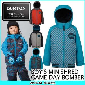17-18 BURTON バートン KIDS SNOW WEAR 子供 キッズ スノー ウエアー ジャケット Boys' Minishred Game Day Jacket /2-7才/幼児向け 【返品種別SALE】|fleaboardshop