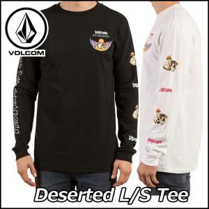 VOLCOM ボルコム tシャツ ロンT メンズ Deserted L/S Tee 長そで ヴォルコ...