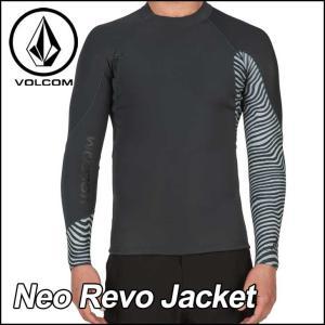 VOLCOM ボルコム メンズ サーフ ラッシュガード ウェット タッパー 水着 Neo Revo ...