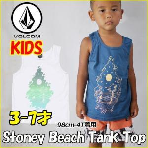 VOLCOM  ボルコム キッズ タンク  Stoney Beach Tank Top  Kids  ノースリーブ 3-7才向け(100110120130140 cm ) 半袖 ヴォルコム 【返品種別OUTLET】|fleaboardshop