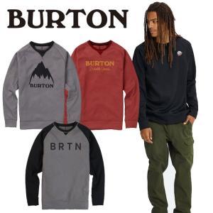 18-19 バートン Men's Burton Crown Bonded Crew Sweatshirt|fleaboardshop