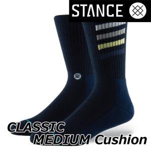 STANCE スタンス ソックス カジュアル 【CLASSIC MEDIUM Cushion 】  【CROTON】クルー ふくらはぎ丈 「メール便可」|fleaboardshop