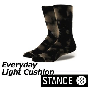 STANCE スタンス ソックス カジュアル 【EVERYDAY Light Cushion 】 クルー ふくらはぎ丈 「メール便可」|fleaboardshop