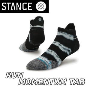 STANCE スタンス ソックス パフォーマンス ランニング 【MOMENTUM TAB 】  足首丈 「メール便可」|fleaboardshop