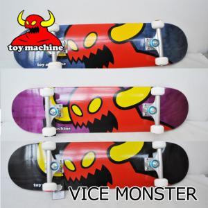 スケートボード コンプリート  TOY MACHINE トイマシーン  VICE MONSTER 7.75  ヴァイスモンスター  スケボー 完成品  ship1 純正品|fleaboardshop