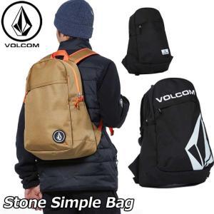 volcom ボルコム リュック  Stone Simple Bag メンズ  D65318JD  【返品種別OUTLET】|fleaboardshop